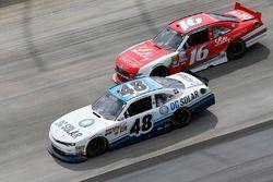 Brennan Poole, Chip Ganassi Racing Chevrolet, Ryan Reed, Roush Fenway Racing Ford