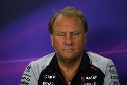 Robert Fernley, directeur adjoint Sahara Force India F1 lors de la conférence de la FIA