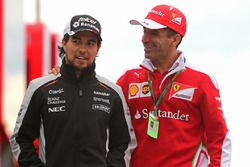 Sergio Perez, Sahara Force India e Marc Gene, Scuderia Ferrari