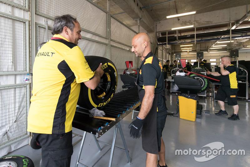 Renault F1 garaje
