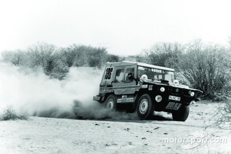 1980: Freddy Kottulinsky, Gerd Löffelmann, Volkswagen Iltis