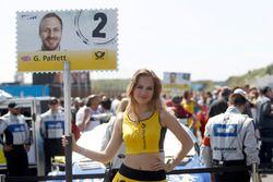 Chica de la parrilla de Gary Paffett, Mercedes-AMG Team ART, Mercedes-AMG C63 DTM