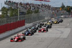 Start: Felix Rosenqvist, Belardi Auto Racing leidt