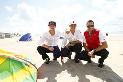 Adrien Tambay, Audi Sport Team Abt; Nico Müller, Audi Sport Team Rosberg; Timo Scheider, Audi Sport Team Phoenix