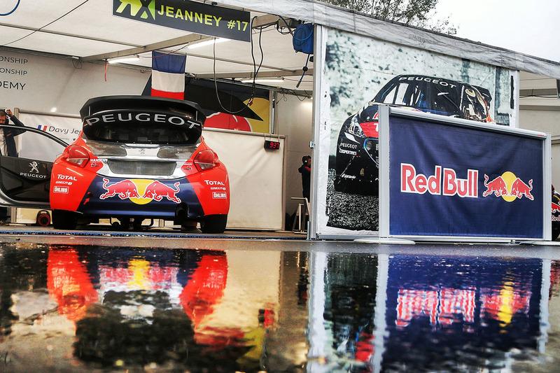 La voiture de Davy Jeanney, Team Peugeot Hansen