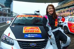 female driver