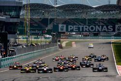 Luca Ghiotto, Trident, Mitch Evans, Pertamina Campos Racing y el resto de los autos