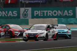 Kevin Gleason, Honda Civic TCR, West Coast Racing y Stefano Comini, Volkswagen Golf GTI TCR, Leopard