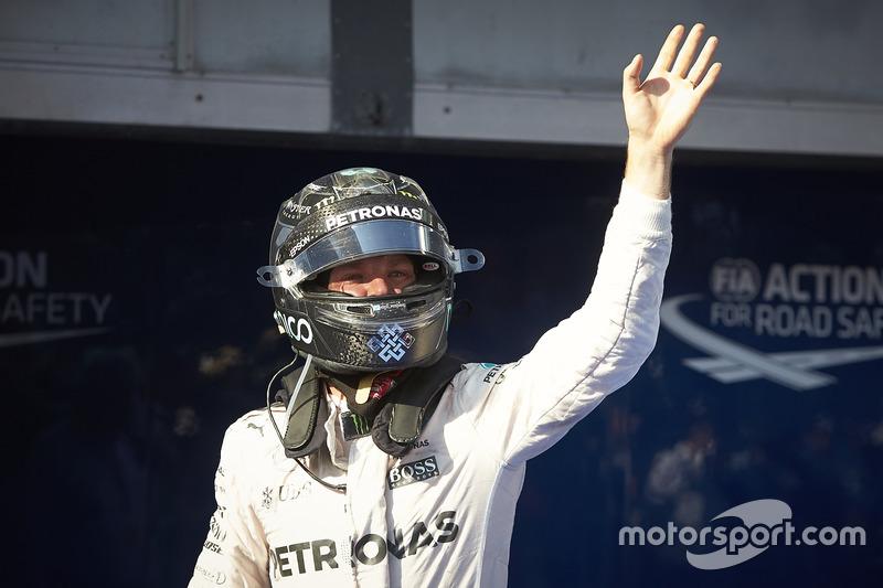Третє місце Ніко Росберг, Mercedes AMG F1