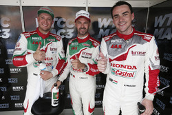 Роб Хафф, Honda Racing Team JAS, Honda Civic WTCC, Норберт Михелиц, Honda Racing Team JAS, Honda Civ