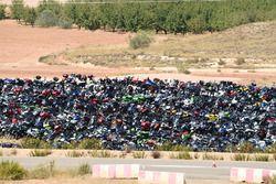 Parque para motos