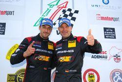 Podium: Uwe Alzen, Lance David Arnold, Haribo Racing, Mercedes-AMG GT3