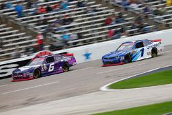 Darrell Wallace Jr., Roush Fenway Racing Ford, Elliott Sadler, JR Motorsports Chevrolet