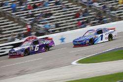 Darrell Wallace Jr., Roush Fenway Racing Ford, Elliott Sadler, JR Motorsports Chevrolet
