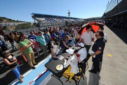 Louis Deletraz, Fortec Motorsports; Pietro Fittipaldi, Fortec Motorsports