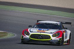 #30 Ram Racing Mercedes AMG GT3: Tom Onslow-Cole, Paul White, Stuart Hall