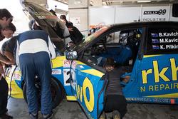 Ben Kavich, Michael Kavich, Kieren Pilkington, Subaru Impreza WRX STI G-2