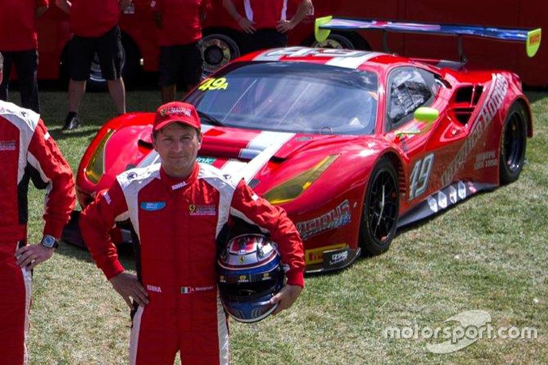 Andrea Montermini, Ferrari 488 GT3
