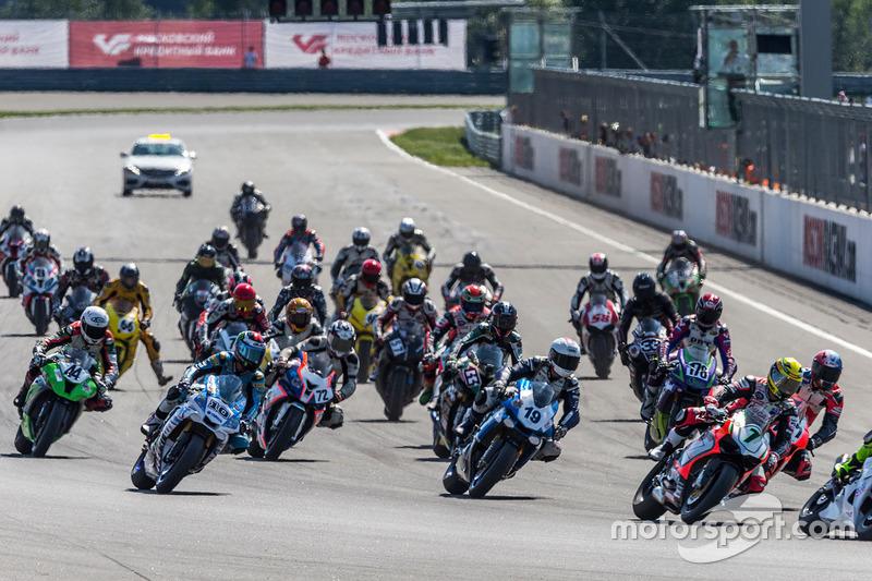 IV этап, Moscow Raceway