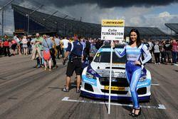 Chica de la parrilla para Colin Turkington, Silverline Subaru BMR Racing