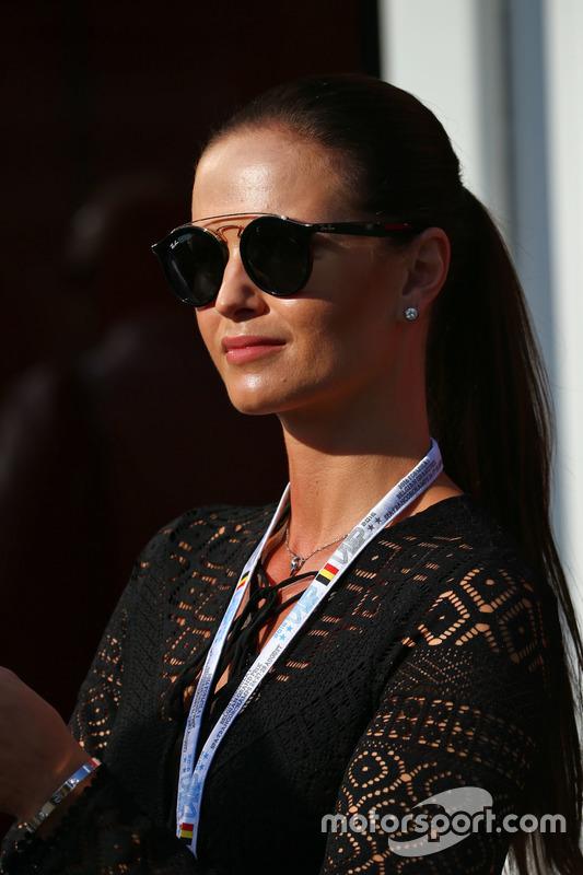 Minttu Raikkonen, moglie di Kimi Raikkonen, Ferrari