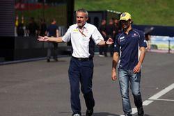 Beat Zehnder, Team Manager Sauber F1 Team avec Felipe Nasr, Sauber F1 Team