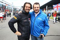 Stéphane Ratel CEO SRO Motorsport Group met Marc Hennerici, Event Promoter