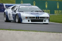 Gerhard Berger lors de la course des légendes de BMW M1 Procar