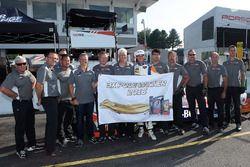 Polesitter Colin Braun, CORE autosport