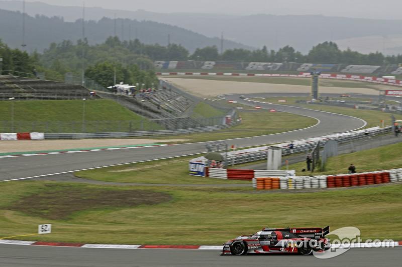 #7 Audi Sport Team Joest, Audi R18: Marcel Fässler, Andre Lotterer