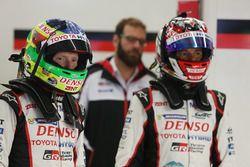 Mike Conway, Stephane Sarrazin, Toyota Racing