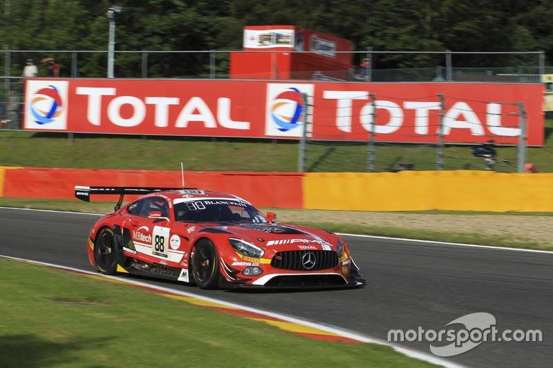 2. #88 AKKA ASP, Mercedes-AMG GT3: Tristan Vautier, Renger Van der Zande, Felix Rosenqvist