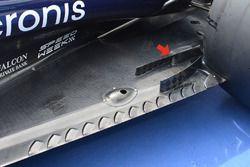 Toro Rosso STR11 taban detayı