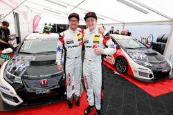 Steve Kirsch, Team Honda ADAC Sachsen, Honda Civic TCR und Dominik Fugel, Team Honda ADAC Sachsen, Honda Civic TCR