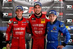 James Nash, Team Craft-Bamboo, Seat León TCR; Pepe Oriola, Team Craft-Bamboo, Seat León TCR; Aku P