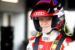 #44 Aust Motorsport, Audi R8 LMS: Mikaela Åhlin-Kottulinsky