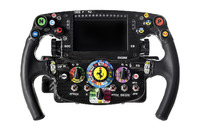 Steering wheel of Sebastian Vettel, Ferrari SF16-H