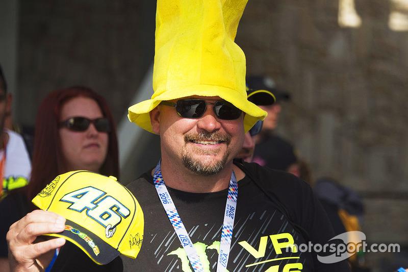 A MotoGP fan