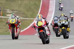 Lorenzo Baldassarri, Athina Forward Racing, Kalex; Xavier Simeon, QMMF Racing Team, Speed Up; Thomas