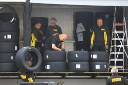 Trabajadores de Pirelli neumáticos