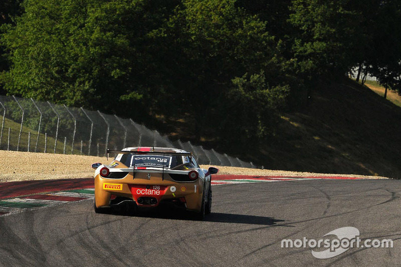 #1 Octane 126, Ferrari 458: Bjorn Grossmann