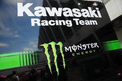 motorhome Kawasaki Racing Team
