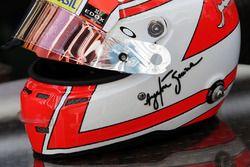 ШлемФелипе Насра, Sauber F1 Team в честь Айртона Сенны