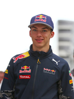 Pierre Gasly, Troisième Pilote Red Bull Racing