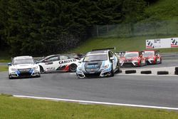 Jordi Oriola, Target Competition, Honda Civic TCR et Mikhail Grachev, Team Engstler, Volkswagen Golf GTI TCR