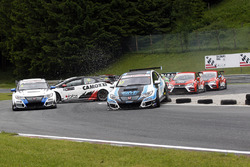 Jordi Oriola, Target Competition, Honda Civic TCR y Mikhail Grachev, West Coast Racing, Honda Civic