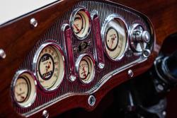 Classic Grand Tour: Panhard & Levassor, detalle de cabina