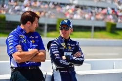 Jamie McMurray, Chip Ganassi Racing, Chevrolet; Crewchief Matt McCall