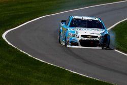 Danica Patrick, Stewart-Haas Racing, Chevrolet, nach dem Crash