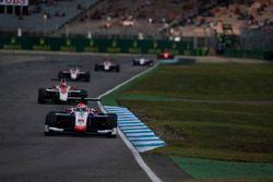 Antonio Fuoco, Trident precede Charles Leclerc, ART Grand Prix